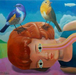 2016 55x55 cm Oil on Canvas