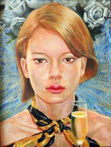 2009  Acrylic on canvas 48x63 cm