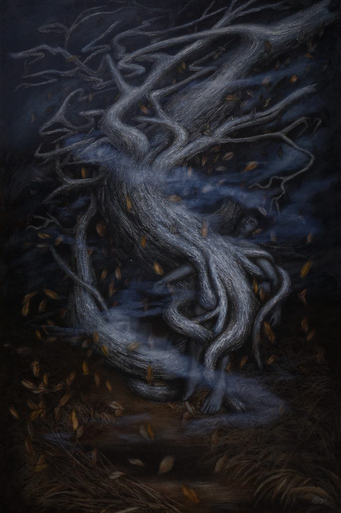 My tree Size : 160x110 cm Oil on canvas