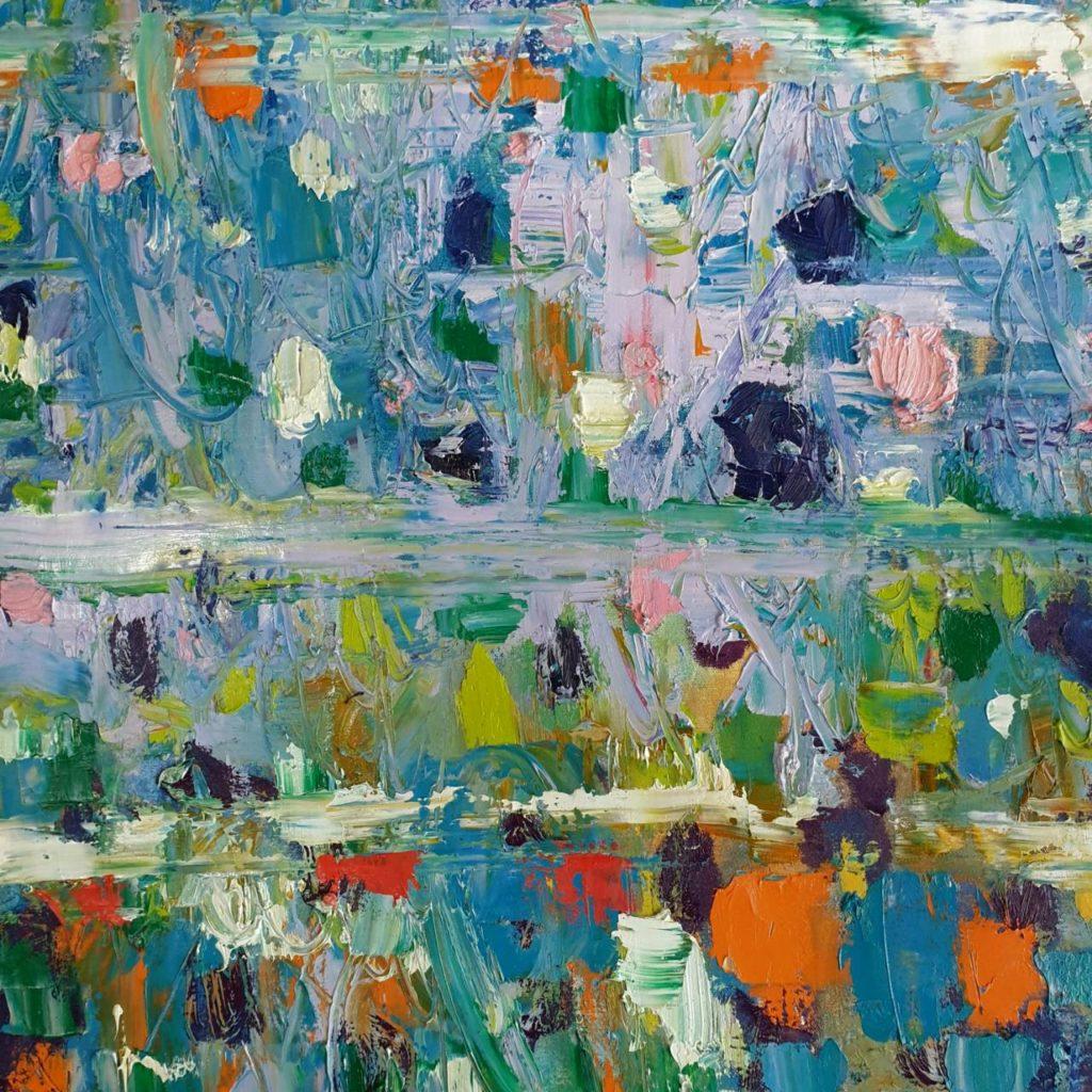 Summer 7/2019 60×60 cm. Oil on canvas