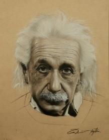 Albert Einstein 34x27 cm