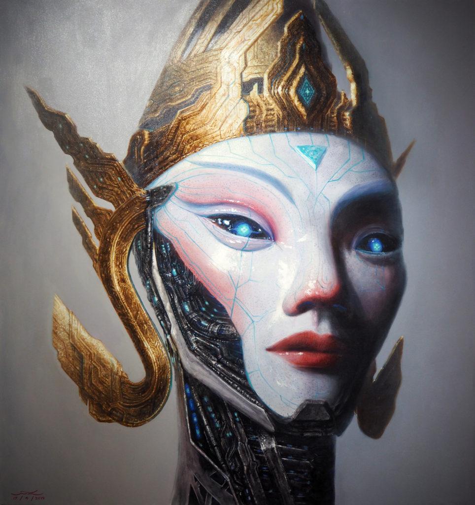 อิหล้า 160x150 cm Acylic on canvas