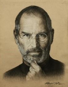 Steve Jobs 34x27 cm