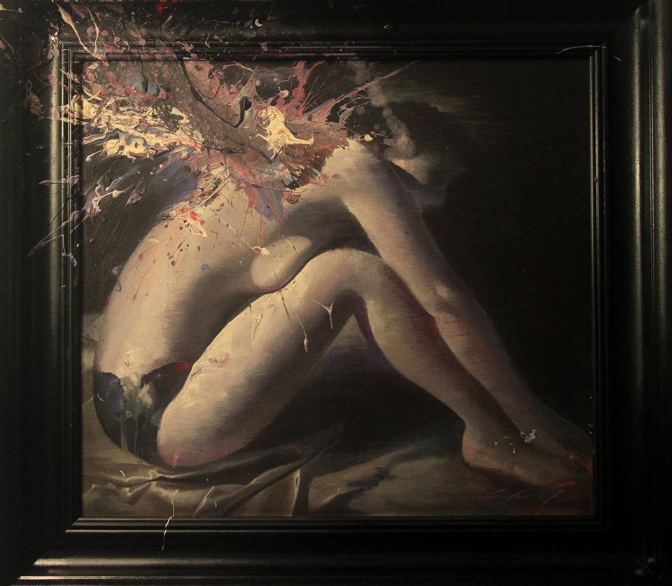 Woman 2019 59 x 63 cm Acrylic on linen