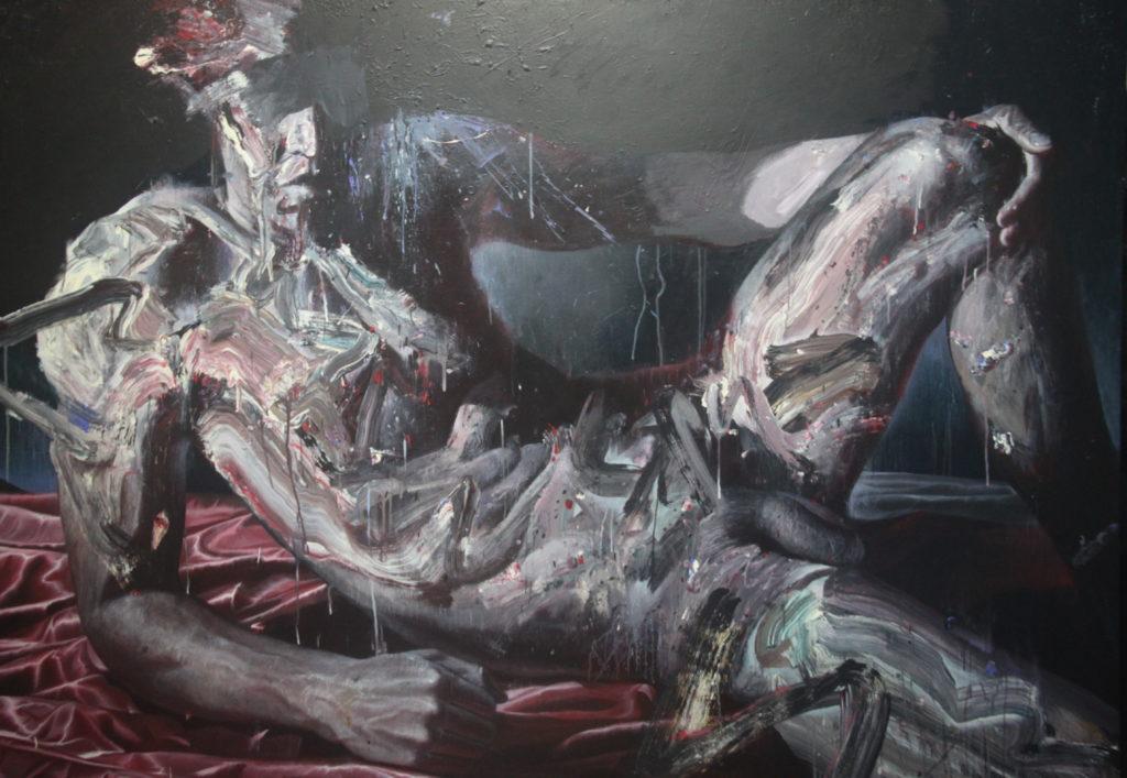 man 2019 140 x 200 cm Acrylic on linen