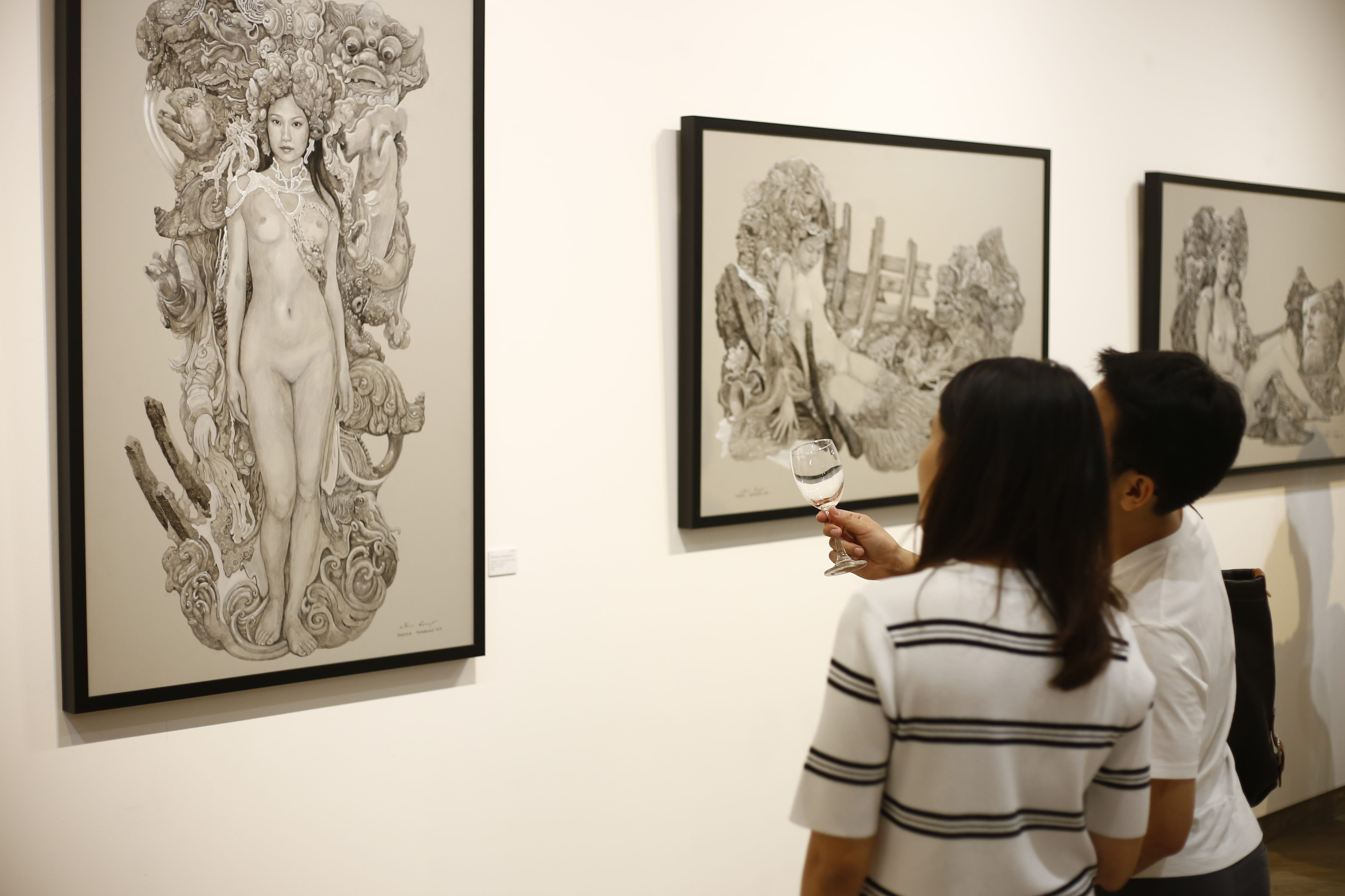 Thanwa's works with Audience