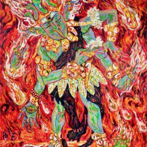 พระกาล 100 x 140 cm Oil on canvas