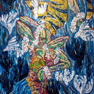 สยามเทวา 100 x 140 cm Oil on canvas