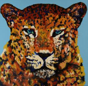 ผู้มาจากทางช้างเผือก 155 x 150 cm. Acrylic on linen