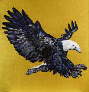สุบรรณ 150 x 148 cm. Acrylic on linen